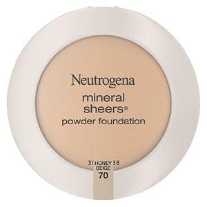 Neutrogena Mineral Sheers Powder Foundation, Honey Beige 70