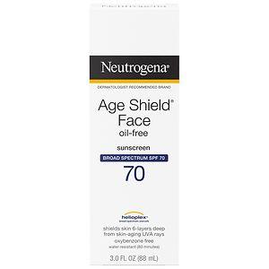 Neutrogena Age Shield Face, Sunscreen Lotion, SPF 70- 3 oz