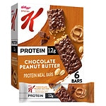 Special K Protein Meal Bars, Chocolate Peanut Butter, 6 pk