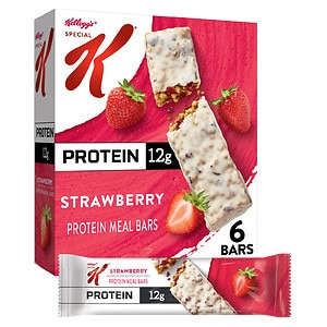 Special K Bars Protein Meal Bar, 6 boxes, Strawberry, 1 case