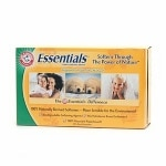 Arm & Hammer Essentials Softener Sheets, Mountain Rain