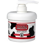 Udderly Smooth Udder Cream with Pump Dispenser, Lightly Scented- 10 oz