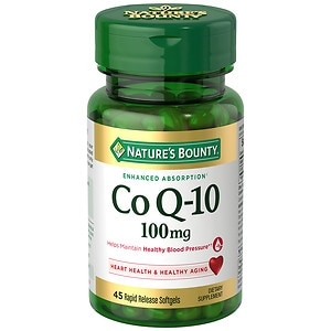 Nature's Bounty Q-Sorb CoQ10, 100mg, Softgels, 30 ea
