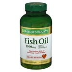 Nature's Bounty Odorless Fish Oil, 1000mg, Softgels- 200 ea