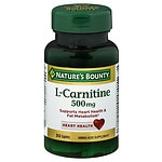 Nature's Bounty L-Carnitine 500mg, Tablets