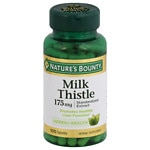 Nature's Bounty Milk Thistle Capsules- 100 ea