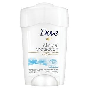Dove Clinical Protection Antiperspirant Deodorant, Original Clean