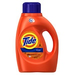 Tide Liquid Detergent, High Efficiency, 32 Loads, Original Scent- 50 fl oz