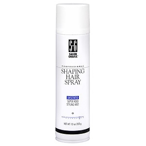 Salon Grafix Professional Shaping Hair Spray,, Unscented- 10 oz