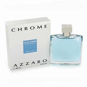 Loris Azzaro Chrome Eau de Toilette for Men, 3.4 fl oz