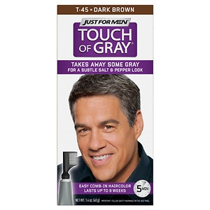 Just For Men Touch of Gray Hair Treatment, Dark Brown T-45- 1 ea