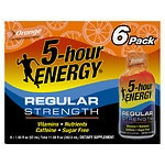 5-Hour Energy Shot, Orange, 6 pk- 1.93 oz