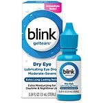 Blink Gel Tears, Lubricating Eye Drops- .34 fl oz