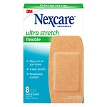 Nexcare Comfort Flexible Fabric Bandage, Knee and Elbow- 8 ea