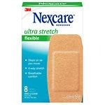 Nexcare Comfort Flexible Fabric Bandage, Knee and Elbow- 8 ea