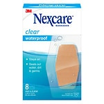 Nexcare Waterproof Clear Bandage, Elbow and Knee