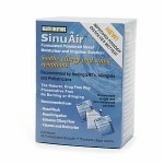 SinuAir Formulated Powdered Nasal Moisturizer & Irrigation Solution, Single-Use Packets