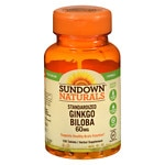 Sundown Naturals Ginkgo Biloba plus, 60mg, Tablets