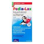 Fleet Children's Pedia-Lax Liquid Stool Softener, Fruit Punch