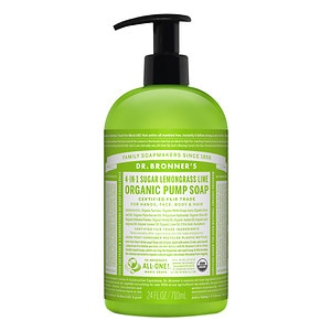 Dr. Bronner's Body Soap, Lemongrass Lime