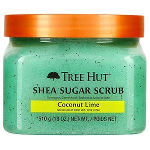 Tree Hut Shea Sugar Body Scrub, Coconut Lime