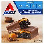 Atkins Advantage Snack Bars, 5 pk, Caramel Double Chocolate
