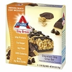 Atkins Day Break Snack Bars, 5 pk, Chocolate Chip