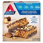Atkins Day Break Snack Bars, 5 pk, Peanut Butter Fudge