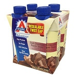 Atkins Advantage Shakes 4 Pack, Dark Chocolate Royale