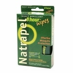 Natrapel 8-Hour Deet Free Insect Repellent Wipes- 12 ea