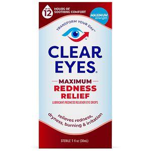 Clear eyes Maximum Redness Relief, Eye Drops- 1 fl oz