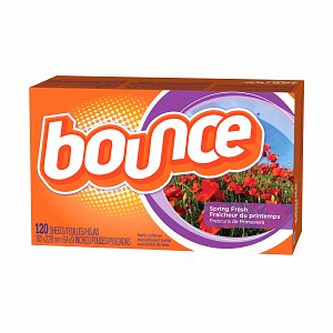 Bounce Fabric Softener Dryer Sheets, Spring Fresh