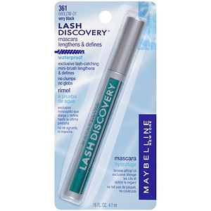Maybelline Lash Discovery Waterproof Mascara, Very Black 361