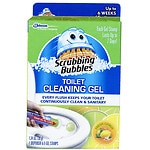 Scrubbing Bubbles Toilet Cleaning Gel, Fresh Clean- 6 ea
