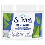 St. Ives Timeless Skin Facial Moisturizer, Collagen Elastin- 10 oz