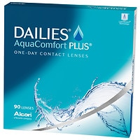 DAILIES AquaComfort Plus 90pk Contact Lens- 90 lenses per Box
