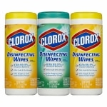 Clorox Disinfecting Wipes Canisters, Value 3 Pack (35 ct canisters)
