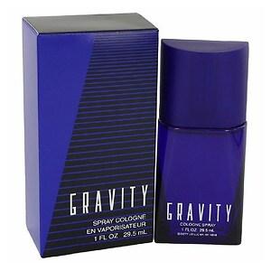 Gravity Spray Cologne for Men- 1 fl oz