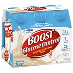 Boost Glucose Control Nutritional Drink, Very Vanilla, 8 oz Bottles, 6 pk- 8 oz