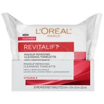 L'Oreal Paris Revitalift Radiant Smoothing Wet Cleansing Towelettes- 30 ea