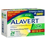 Alavert Orally Disintegrating Tablets 48 + 12 Bonus Pack- 60 ea