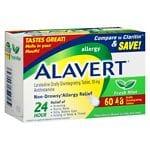 Alavert Orally Disintegrating Tablets 48 + 12 Bonus Pack- 60 ea