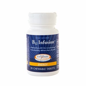 Enzymatic Therapy B12 Infusion, Chewables- 30 ea
