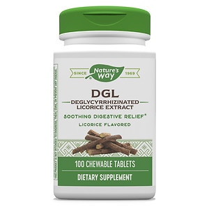 Enzymatic Therapy DGL Deglycyrrhizinated Licorice, Tablets, 100 ea