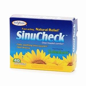 Enzymatic Therapy SinuCheck, Softgels- 40 ea