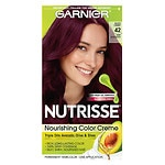 Garnier Nutrisse Level 3 Permanent Creme Haircolor, Deep Burgundy 42 (Black Cherry)