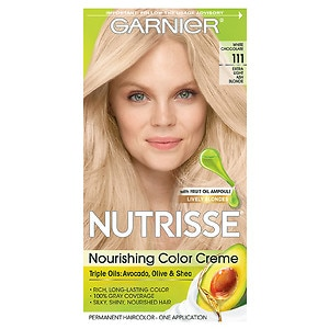Garnier Nutrisse Permanent Haircolor, Extra-Light Ash Blonde 111 (White Chocolate)
