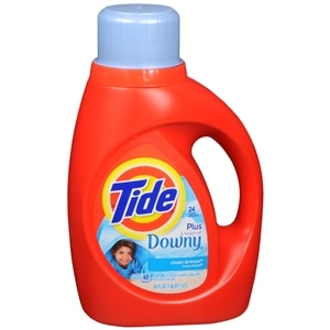 Tide Liquid Detergent plus a Touch of Downy, 24 Loads, Clean Breeze&nbsp;