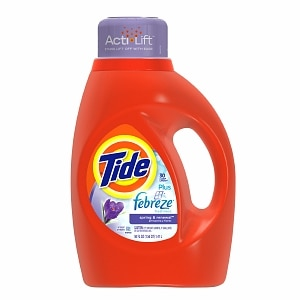 Tide Liquid Detergent plus Febreze, 26 Loads, Spring & Renewal&nbsp;