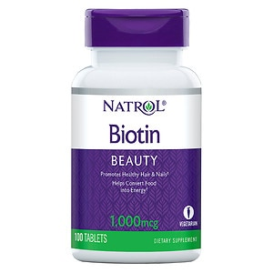 Natrol Biotin, 1000mcg, Tablets- 100 ea